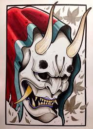 the 25 best japanese demon tattoo ideas on pinterest oni mask
