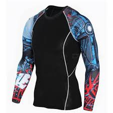 3d print quick trim long sleeve t shirt men u0027s body sweatshirt xxl