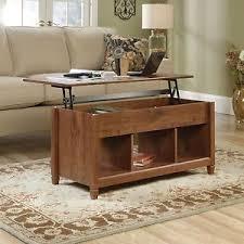 cherry lift top coffee table new sauder edge water lift top coffee table storage shelf auburn