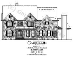 perthshire house plan house plans by garrell associates inc