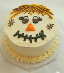Halloween Cake Decorating Pictures Scarecrow Cake Kit Fall Bake Decorating Decorating