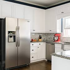 kitchen ideas with white cabinets and stainless steel appliances kitchen ideas projects partner advice the home depot