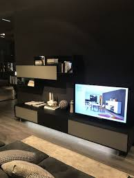 modern living room wall units full of class and pizzazz