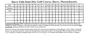 black friday disc golf barre falls in barre ma disc golf course review