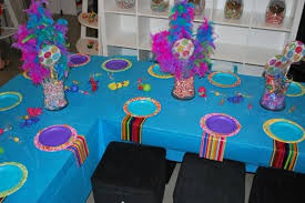 candyland decorations with colorful details on décor the
