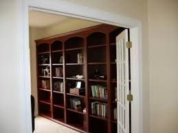 Dark Cherry Bookshelf Indianapolis Custom Bookcases And Bookshelves Innovative