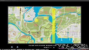 Real Time Maps Map In Real Time For Gta San Andreas