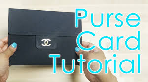 tutorial free template designer luxury quilted bag card youtube
