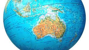 australia on globe wallpaper 389838
