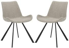 Contemporary Dining Chairs Ach7004b Set2 Dining Chairs Furniture By Safavieh