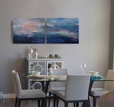 savannah serenade blue wall art abstract painting