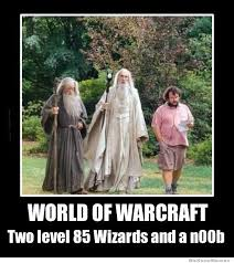 Funny Wow Memes - two level 85 wizards weknowmemes
