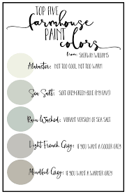 how to pick foolproof farmhouse paint colors cotton stem