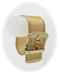 buckle bracelet gold images Vintage wide gold mesh buckle bracelet jpg