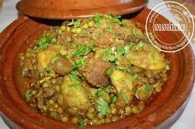 cuisine marocaine tajine agneau tajine d agneau aux artichauts tajine with artichoke طاجين