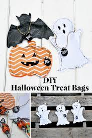 handmade halloween treat bags super cute halloween treats bags 3 ways pillar box blue