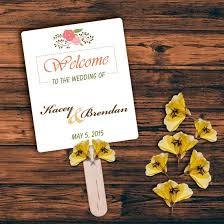 paper fan wedding programs 5 simple steps to make a wedding program fan on your own