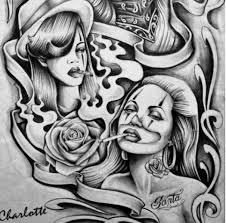 9 best images of chola pencil drawings chola lowrider art