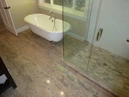 silver travertine bathroom remodel silver 12x24 travertine tile