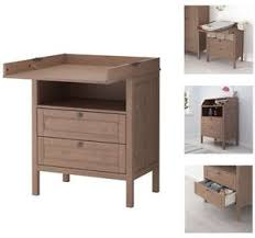 Brown Changing Table Ikea Sundvik Baby Changing Table W Chest Of Draws Grey Brown