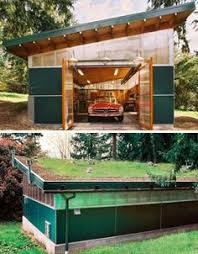 Workshop Garage Plans Plan 62636dj Modern Garage Plan With 3 Bays Modern Garage