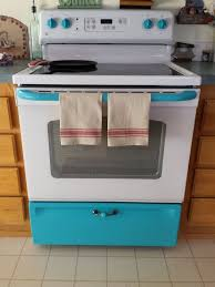 can you paint kitchen appliances this idea will dramatically transform your old stove and it looks