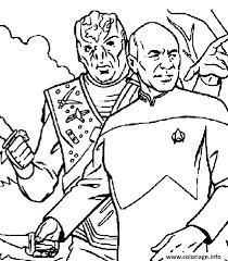 Coloriage Star Trek  JeColoriecom