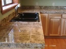 Tile Kitchen Countertops Ideas Trendy Kitchen Tiles Countertops Marble Tile Counter Top Best