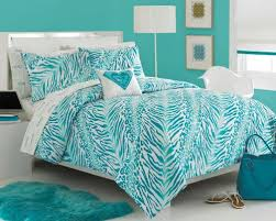 Zebra Bed Set Comforter Sets For Aqua Teal Zebra
