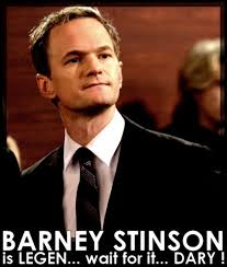 How I Met Your Mother Memes - funny how i met your mother barney memes legendary photo quotesbae