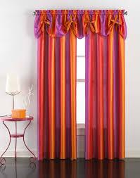 Purple Ombre Curtains Rainbow Ombre Faux Silk Curtain Panel Curtainworks Com