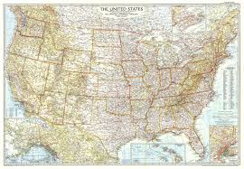 Atlas Map Of Usa by 1956 United States Of America Map Historical Maps