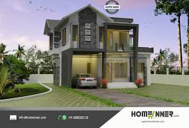 contemporary home plans with photos modern contemporary house plan in 4 cent plot luxury kerala home