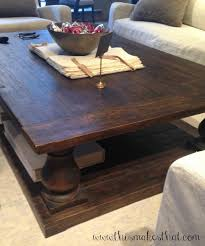 30 photos rustic style coffee tables