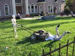 Halloween Skeleton Yard Decorations by Need To Do This Halloween Pinterest Halloween Ideas