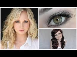 vire diaries hairstyles caroline the vire diaries caroline forbs inspired makeup tutorial