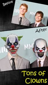Picture Editor Meme - insta scary clown funny photo editor with meme head or comic
