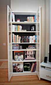 sliding cabinet doors diy how to gl bookshelf best bookcase with