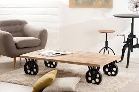 Table Basse Verre Roulette Industrielle by Table Basse Design Jade Tables Basses Design Noir Et Blanc