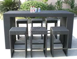 outdoor bar height table and chairs set outdoor pub tables outdoor pub table patio bar set high top andirs