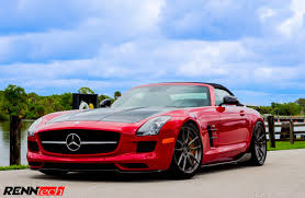 mercedes sls amg edition with renntech upgrades mercedes sls amg edition is even