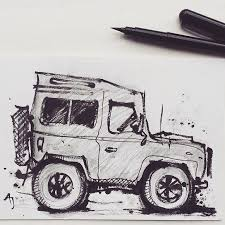 jeep defender for sale land rover defender for sale drawing of in my etsy shop aj