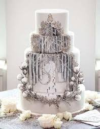 Winter Wedding Cakes Winter Wedding Cake Archives Bridal Veil Dreams