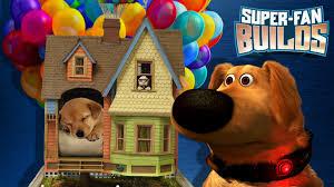 disney pixar u0027s up dog house super fan builds youtube
