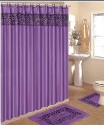 Bathroom Shower Curtain And Rug Set 4 Bath Rug Set 3 Purple Zebra Bathroom Rugs With