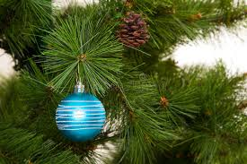 Happy New Year Decorations 2016 by Christmas Tree Decorations 2016 Happy New Year Stock Photo