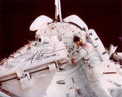 sullivan kathryn autographed print astronaut scholarship foundation