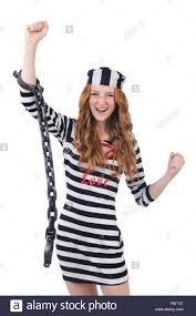 Prisoners Halloween Costumes Female Prisoner Stock Photos U0026 Female Prisoner Stock Images Alamy