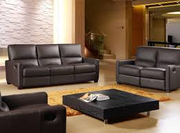 sofa recliner leather sofa frightening leather reclining sofa