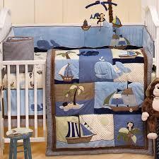 Nojo Crib Bedding Set To It Nojo Ahoy Mate 6 Crib Bedding Set 149 98